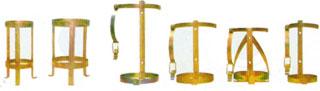 Vários modelos de Suporte para Extintores